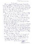 Lettre de Mouhoune Mhamed
